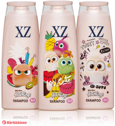 XZ Angry Birds Hatchlings 2in1 250 ml shampoo