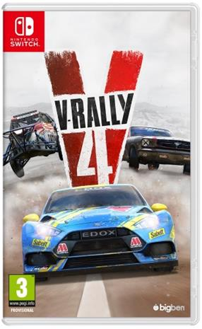 V-Rally 4, Nintendo Switch -peli