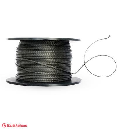 DD Hammocks Amsteel 2.5mm Dyneema nyöri, Harmaa