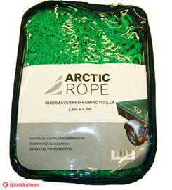 Arctic Rope 2,5 x 4,5m vihreä kuormaverkko