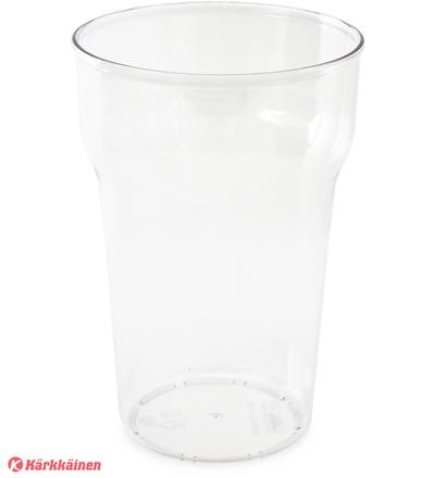 Nordiska Plast 35 cl kirkas muovinen juomalasi