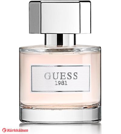 Guess 1981 For Women 30 Ml Edt naisten parfyymi