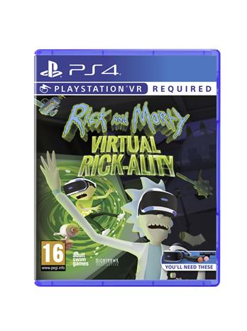 Rick and Morty: Virtual Rick-Ality, PS4 VR -peli