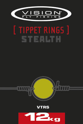 Vision Stealth Tippet Rings 20kg Liitosrengas
