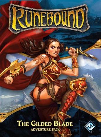 Runebound Board Game 3rd Edition: Adventure Pack -Gilded Blade LAUTA