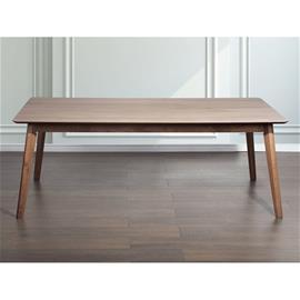 Beliani Ruokapöytä - Ruskea Keittiön pöytä 200x100 cm MADOX