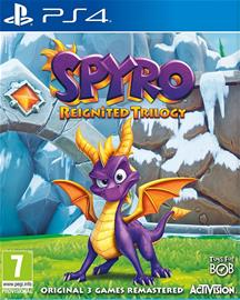Spyro Reignited Trilogy, PS4 -peli