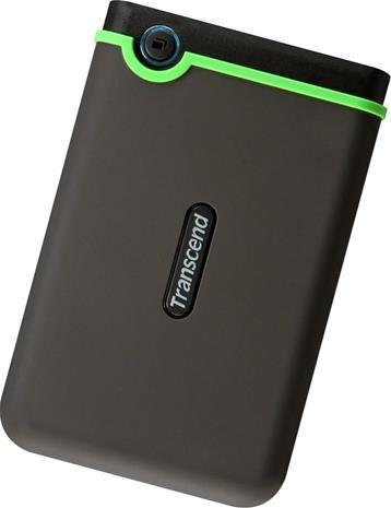Transcend StoreJet 25M3 (2 TB, USB 3.1) TS2TSJ25M3S, ulkoinen kovalevy