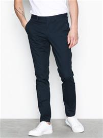 Selected Homme Slhslim-Mathcot Navy Trouser Noos Housut Tummansininen