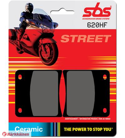 SBS 23-620HF Ceramic Suzuki GSX1100F/600F eteen jarrupalat