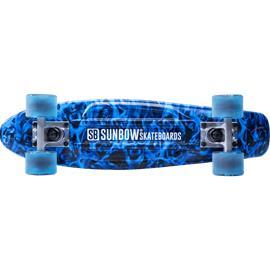 Sunbow SO PLASTIC SKATE BLUE PRINTED