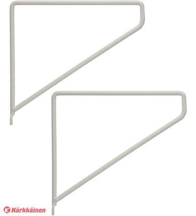 Kotoilu 14x14 cm 2 kpl hyllynkannatin