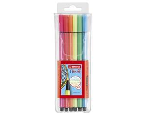 Stabilo Pen 68 Neon 6-set