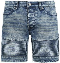 Doomsday Biker Shorts Shortsit sininen