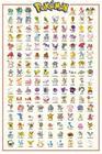 Pokemon Kanto 151 Juliste monivärinen