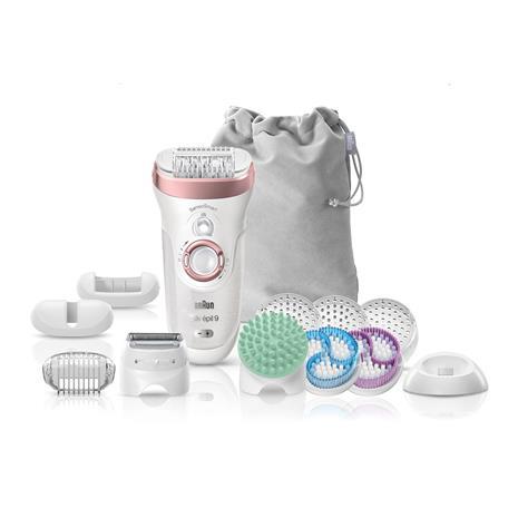 Braun Silk-épil 9 SkinSpa SensoSmart 9/990, epilaattori-ihonhoitolaite + 13 lisäosaa