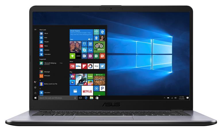 """Asus VivoBook X505BP-EJ093T (A6-9220, 8 GB, 1000 GB + 128 GB SSD, 15,6"""", Win 10), kannettava tietokone"""