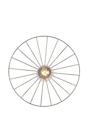 Globen Lighting Wheel, seinä/kattovalaisin 55 cm
