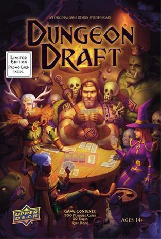 Dungeon Draft Lautapeli
