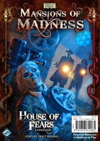 Mansions of Madness: House of Fears Lautapeli