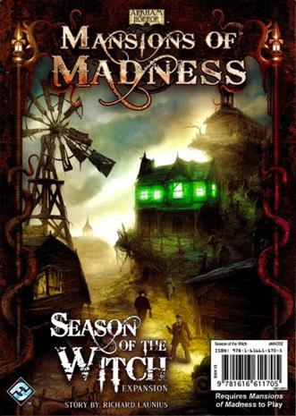 Mansions of Madness: Season of the Witch Lautapeli
