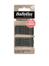 BaByliss Paris Hä¥rnä¥lar 60-pack Hiuslenkit & Hiuspinnit Black