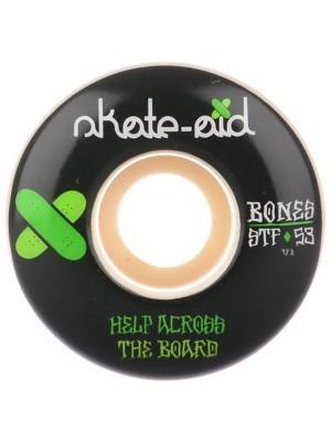 Bones Wheels Stf Skate Aid II 83B V1 54mm Wheels white