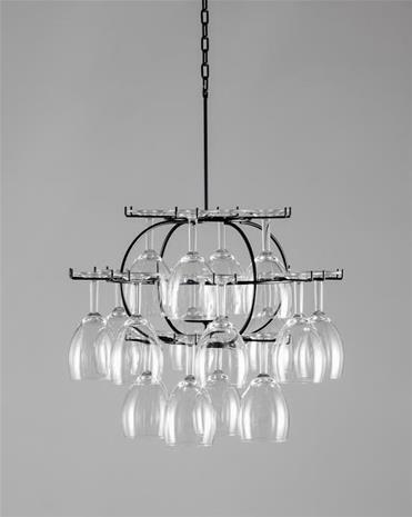 Cedervall shapes Lillklasen 16 glas Lillklasen 16 glas - Svartlackerat stål, Kalusteet ja sisustus