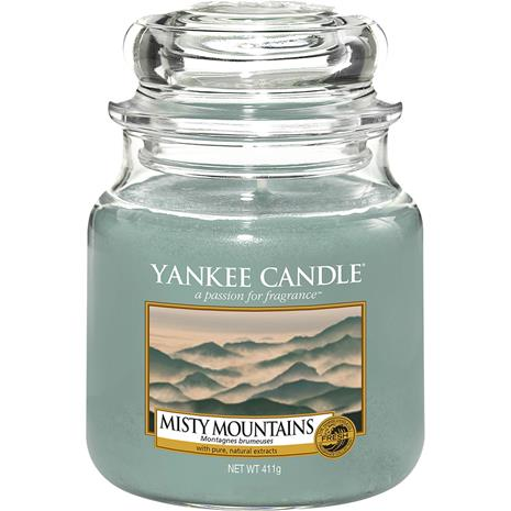 Yankee Candle Misty Mountains - Medium Jar 411 g