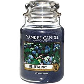 Yankee Candle Blueberry - Large Jar 623 g