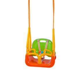 BABYGO DoReMi Vauvakeinu, vihreä-oranssi