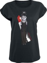 Pets Rock Lady Naisten T-paita musta