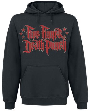 Five Finger Death Punch Justice-Graffiti Huppari musta