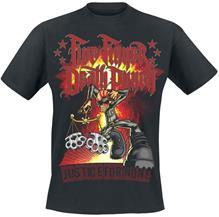 Five Finger Death Punch Justice-Graffiti T-paita musta