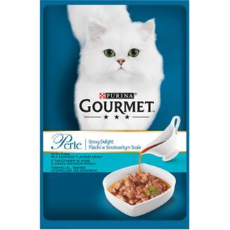 Gourmet Perle Kissanruoka 85 g Gravy Delight Tonnikalaa kastikkeessa