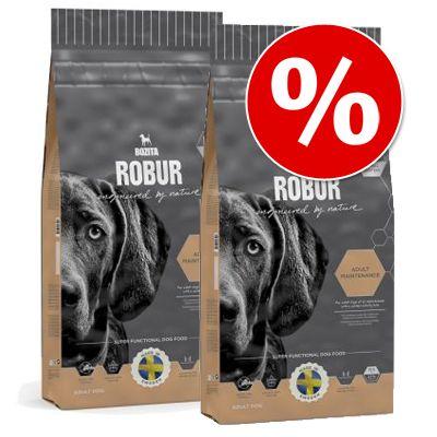Bozita Robur -säästöpakkaus - 2 x 11,5 kg Sensitive Grain Free Chicken