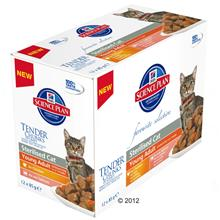 Hill's Feline Young Adult Sterilised - 12 x 85 g
