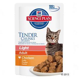 Hill's Science Plan Adult Light Chicken - 6 x 85 g