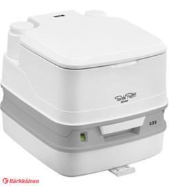 Thetford Porta Potti Qube 335 valkoinen WC lattiakiinnikkeellä