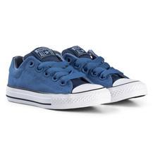 Blue Chuck Taylor All Star Street Slip On Junior Trainers27 (UK 10)