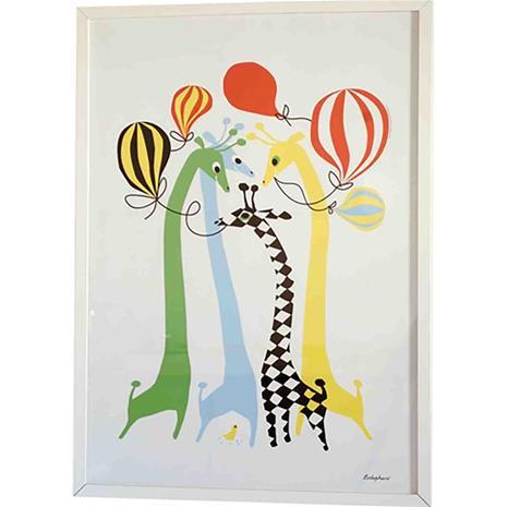 Graphic print Giraffes