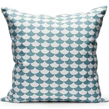 Decoration cushion 50x50cm Waves Whiteblue