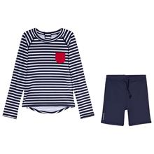 Kuling Outdoor, Rashguard, Marstrand, Stripe Blue74/80 cm