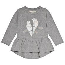 Grace LS T-Shirt Grey Melange68 cm
