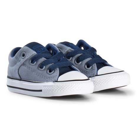 Grey Chuck Taylor All Star High Street Slip On Infant Trainers19 (UK 3)