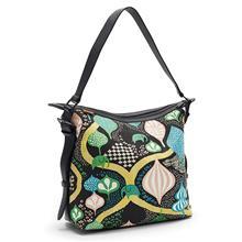 Small Messenger bag Saga forest Blackmulti