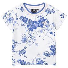 Nora T-Shirt S/S Persian Jewel104 cm (3-4 v)