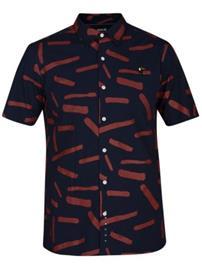 Hurley Bowie Shirt obsidian Miehet