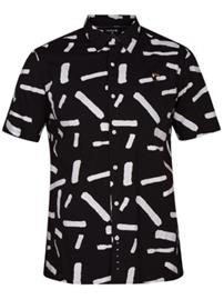 Hurley Bowie Shirt black Miehet
