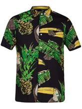 Hurley Toucan Shirt black Miehet